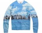 El skyline neoyorkino en tu sudadera