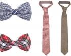 Pajaritas y corbatas otoñales