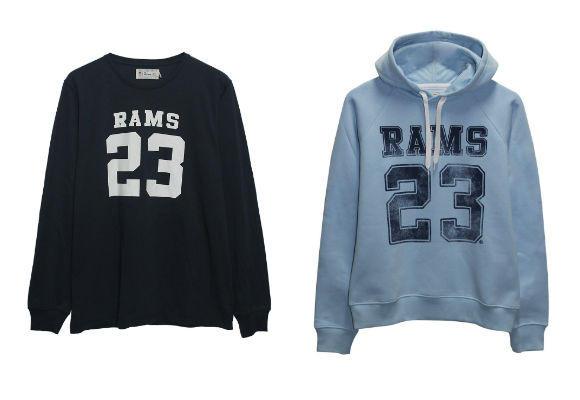 Estilo universitario con Rams23