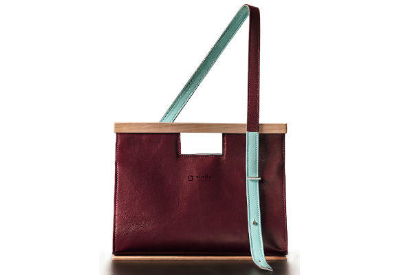 Bolsos con madera