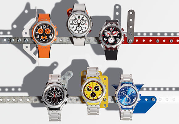 Ligereza con Swatch